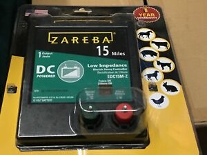 Zareba 15 Mile Battery Operated Low Impedance Fence Charger Edc15m z Made In Usa