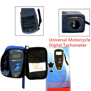 Non contact 2 5 99 999 Rpm Counter Motorcycle Tachometer For Speed Measurement