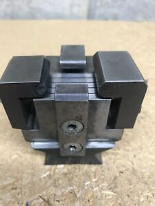 Precision Mini Grind Fixture Slotted Table V Block Three Sides Adjustable