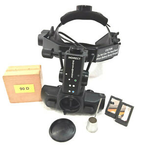 Rechargeable Indirect Ophthalmoscope With Accessories 90 D Lens Ophthalmology