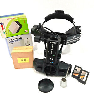 Wireless Rechargeable Led Indirect Ophthalmoscope With Accessories