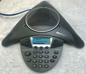 Polycom Soundstation Ip 6000 Conference Ip Phone 2201 15600 001 Voip Poe Sip