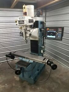 Southwestern Industries Proto Trak Dpm2 Smxp Bed Mill With Advanced Feature 2013