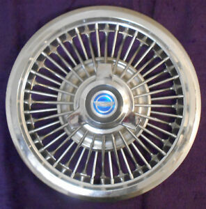 1965 1966 Ford Galaxie 500 Xl Convert Fairlane Orig 15 Spinner Wire Wheel Cover