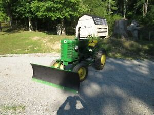 1951 John Deere Model M With rare Snow Plow
