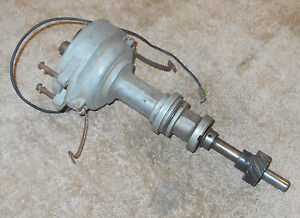 1965 1966 67 Ford Mustang Fairlane Falcon Galaxie Comet Orig 289 2v Distributor