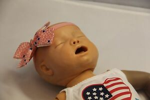 Vintage Baby Cpr Training Doll Anatomically Correct Nice