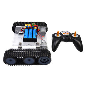 Magideal 33gb520 Motor Dc9 12v Tank Chassis 2 4g Remote Control For Arduino