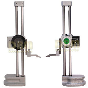 Double Dual Twin Beam 24 Dial Height Gage 001 Digital Digit Counter Gauge