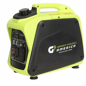 Green Power 2200 w Quiet Portable Gas Powered Inverter Generator Home Rv Camping