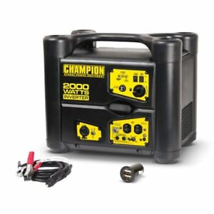 73540i Champion 2000 watt Stackable Portable Inverter Generator