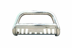 Stainless Steel Bull Bar Grill Guard For 2002 2006 Chevy Avalanche 2500