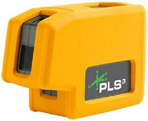 New Pls3 3 point Green Beam Laser Level Pls 60595n By Pacific Laser Systems