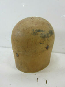 Antique Wooden Millinery Hat Form
