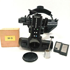 Rechargeable Indirect Ophthalmoscope With 90 D Lens Accessories Free Shipping