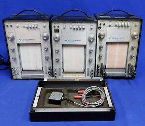 Gould Brush 220 60 Hz Strip Chart Recorder Set Of 3 Units