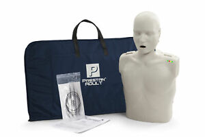 Prestan Adult Cpr Aed Training Manikin With Cpr Monitor Light Skin Pp am 100m