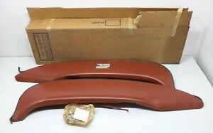 Pair Fender Skirts 1960 Edsel Or Ford Galaxy Foxcraft Fws 60 Original Paint Nos