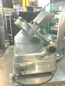 Slicer Berkel Automatic Meat Slicers With 13 Blade Cutter