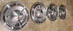 Vintage Chevy Ii Nova 13 Hubcaps 1963 1964 63 64 Set Of 4 Chevrolet Wheel Cover