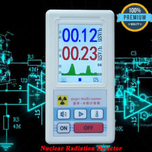Nuclear Radiation Detector Dosimeter Tester Marble Radiometer Geiger Counter Hot