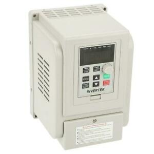 220v 400hz Single Phase To Three Phase Output Frequency Converter Vfd 4kw 5 5kw