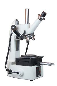 Radical 10x 30x 50x Toolmakers Precise Linear Angle Measuring Microscope W Ca