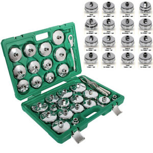 Oil Filter Wrench Socket Set Cup Cap Tool For Bmw Volvo Honda Audi Ford Toyota