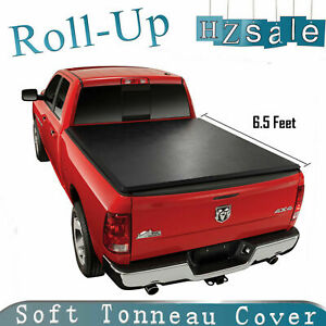 Fit 99 06 Chevy Silverado 1500 6 5ft Short Bed Lock Soft Roll Up Tonneau Cover