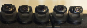 Lot Of 5 Sony Evi d70 Pan tilt zoom Ccd Color Video Cameras