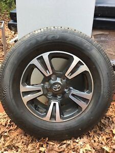 Toyota Tires And Rims For A 2017 Tundra Truck