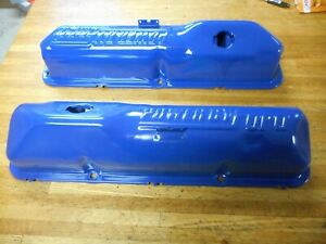 1968 1976 Ford 352 360 390 428 Power By Ford Valve Covers Clean Pr Oem Original