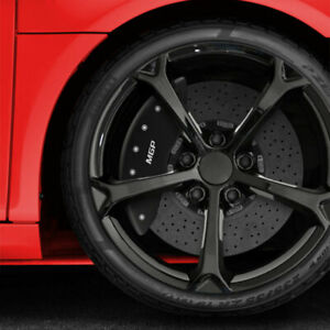 Matte Black Mgp Caliper Covers For 2015 2017 Chevy Ss fits Brembo