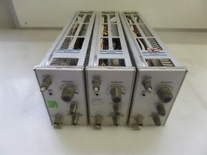 Lot Of 3 Tektronix 7a19 Oscilloscope Amplifier Modules