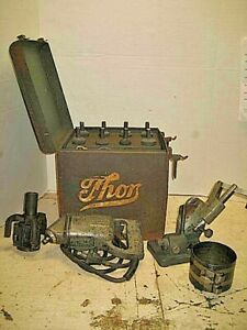 Vintage Thor Valve Seat Grinder With Box And Accessories