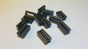 2335pcs Dip16 16pin Dip 16 Ic Socket Holder Dip 16 Dil Ic Adapter Sockets Solde