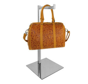 Counter Top Hand Bag Purse Rack With Adjustable Height From 17 31 H Chrome