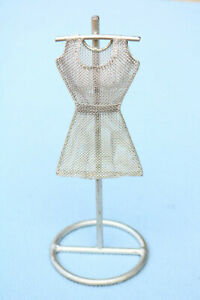 Female Dress Mannequin Form Stand Decorative Display Sewing Mannequin Steel Art