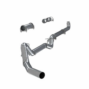 2001 2007 Chevy Gmc 6 6l Duramax Mbrp 4 Straight Pipe Exhaust S6004plm