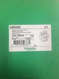Schneider Thermal Overload Relay Lrd4365 80 104a Brand New In Box Free Shipping