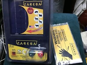 Zareba Esp5m z 5 mile Solar Low Impedance Charger 6 Volt 3pk Warning Signs