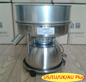 Stainless Steel Electric Vibrating Sieve Fine Mesh Shaker For Powder Particles