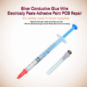 Silver Conductive Glue Wire Electrically Paste Adhesive Paint Pcb Repair 0 3ml N