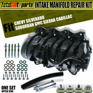 Upper Intake Manifold For Cadillac Escalade Chevy Gmc Hummer Tahoe Sierra 1500