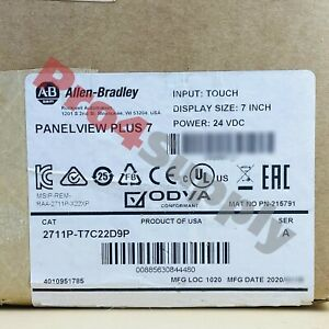 2019 2020 Us Stock Allen bradley Panelview 7 Plus Panel 2711p t7c22d9p
