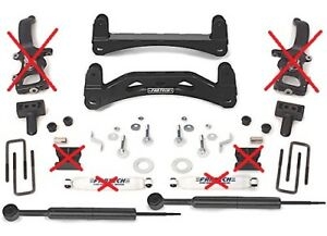 Fabtech Lift Kit Fts22014bk Fits 6 Basic System For 04 08 Ford F 150