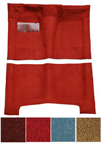 New 1968 1972 Chevelle Carpet Set Molded W Backing And Heel Pad Pick Color