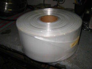 500 Long Clear Plastic Bags 2 Mil Roll 42 x7 25 Poly Tubing 10 Cent A Bag 26c3