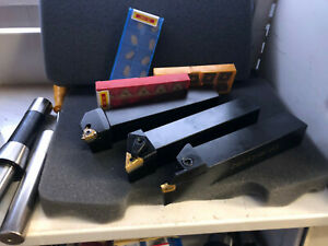 1 Lathe Tool Set Combo Limited Quantity While They Last Pcs 30 Inserts