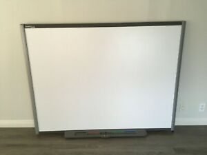 Smart Sb680 77 Smartboard Interactive White Board W Pen Tray no Pens
